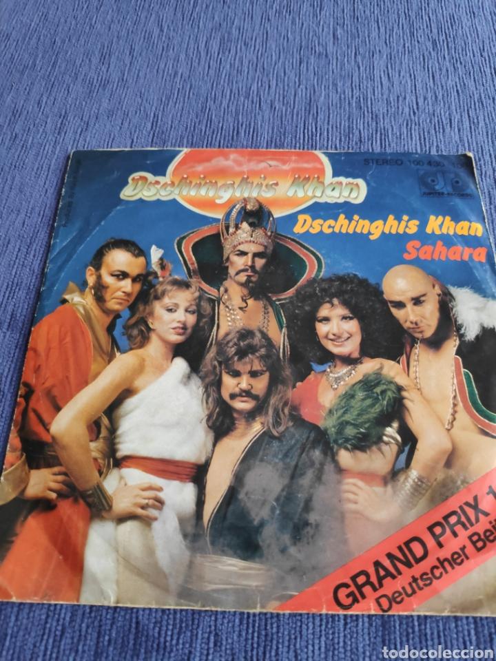 Discos de vinilo: Single vinilo Eurovision 79 - Dschinghis khan - De Alemania - Foto 2 - 262560280