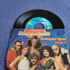 Discos de vinilo: SINGLE VINILO EUROVISION 79 - DSCHINGHIS KHAN - DE ALEMANIA. Lote 262560280