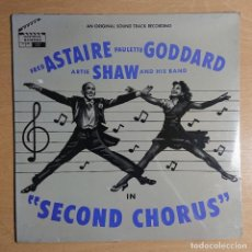 Discos de vinilo: SECOND STAGE · PRECINTADO! SOUNDTRACK · FRED ASTAIRE, PAULETTE GODDARD ARTIE SHAW AND HIS BAND. Lote 262562135