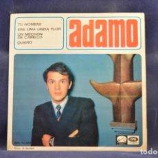 Discos de vinilo: ADAMO - TU NOMBRE + 3 - EP. Lote 262562560
