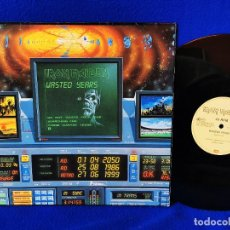 Discos de vinilo: IRON MAIDEN - WASTED YEARS / REACH OUT - SHERIFF OF HUDDERSFIELD - 1986 MAXI - MADE IN FRANCE. Lote 262565175