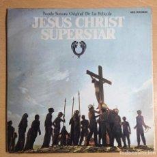 Discos de vinilo: JESUS CHRIST SUPERSTAR · ALBUM DOBLE BANDA SONORA DE LA PELÍCULA MCA SPAIN 1981 GATEFOLD. Lote 262567620