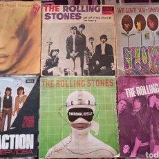 Discos de vinilo: SINGLES THE ROLLING STONES. Lote 262568655
