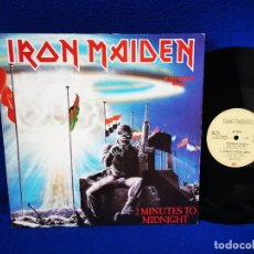 "Discos de vinilo: IRON MAIDEN - 2 MINUTES TO MIDNIGHT - MAXI 12"" - MADE IN GERMANY 1984. Lote 262571265"