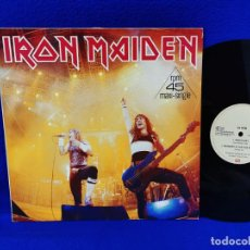 "Discos de vinilo: IRON MAIDEN - RUNNING FREE - MAXI 12"" - MADE IN GERMANY 1985. Lote 262573070"