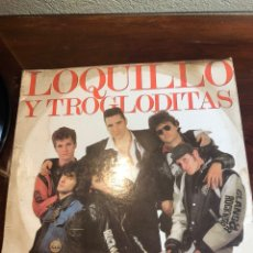 Discos de vinilo: DISCO DOBLE LOQUILLO Y LOS TROGLODITAS. Lote 262573425