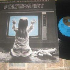 Discos de vinilo: POLTERGEIST ORIGINAL MOTION MGM 1982 0G GERMANY LEA DESCRIPCION DETALLADA. Lote 262578700