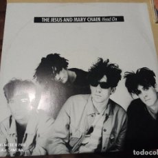 Dischi in vinile: JESUS AND MARY CHAIN - HEAD ON - MAXI UK BLANCO Y NEGRO 89 POST PUNK NEW WAVE. Lote 262581040