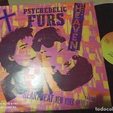 Discos de vinilo: PSYCHEDELIC FURS - HEAVEN / HEARTBEAT - MAXI UK CBS 84 NEW WAVE POST PUNK. Lote 262581380