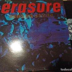 Discos de vinilo: ERASURE - SHIP OF FOOLS - MAXI UK MUTE 88 - SYNTH POP. Lote 262581940