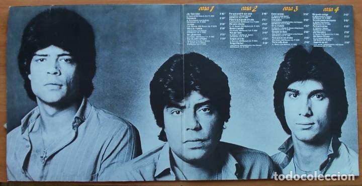 Discos de vinilo: LOS CHUNGUITOS  CARA A CARA - SUS 25 MAYORES ÉXITOS DOBLE LP 1984 BUENAS CONDICIONES - Foto 2 - 262589100