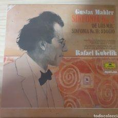Discos de vinilo: GUSTAV MAHLER SINFONÍA NO8. Lote 262591035