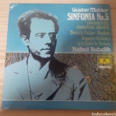Discos de vinilo: GUSTAV MAHLER SINFONÍA NO5. Lote 262591370