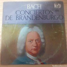 Discos de vinilo: BACH CONCIERTOS DE BRANDENBURGO. Lote 262592490