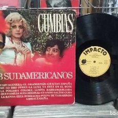 Disques de vinyle: LOS 3 SUDAMERICANOS. CUMBIAS. IMPACTO 1977, REF. EL-338 - LP. Lote 262595100