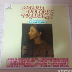 Discos de vinilo: MARÍA DOLORES PRADERA ACOMPAÑADA POR LOS GEMELOS. Lote 262595440