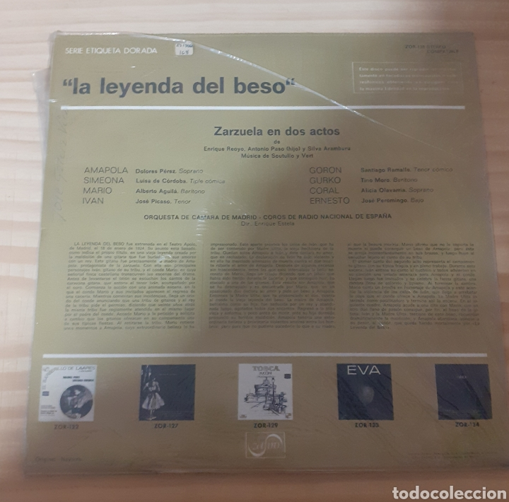 Discos de vinilo: La leyenda del beso - Foto 2 - 262596355