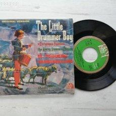 Discos de vinilo: GRUPO CORAL DE HARRY SIMEONE* – EL PEQUEÑO TAMBORILERO EP SPAIN 1965 VILLANCICOS. Lote 262597015
