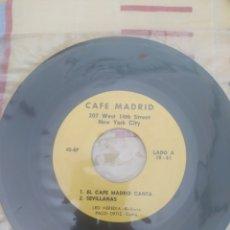 Discos de vinilo: VINILO CAFÉ MADRID. Lote 262598935