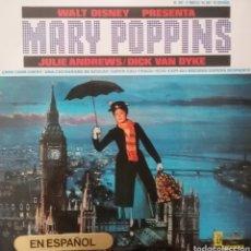 Discos de vinilo: MARY POPPINS ( EN ESPAÑOL). EP. SELLO DISNEYLAND. EDITADO EN ESPAÑA. AÑO 1966. Lote 262599085