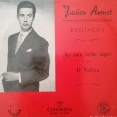 Discos de vinilo: JAVIER ARMET. EP. SELLO COLUMBIA. EDITADO EN ESPAÑA.. Lote 262600925