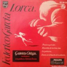 Discos de vinilo: GRABIELA ORTEGA (A LORCA). EP. SELLO PHILIPS . EDITADO EN ESPAÑA. AÑO 1960. Lote 262601535