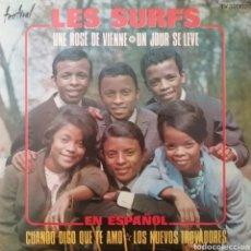Discos de vinilo: LES SURFS. EP. SELLO DISQUES FESTIVAL. EDITADO EN ESPAÑA. AÑO 1967. Lote 262602670