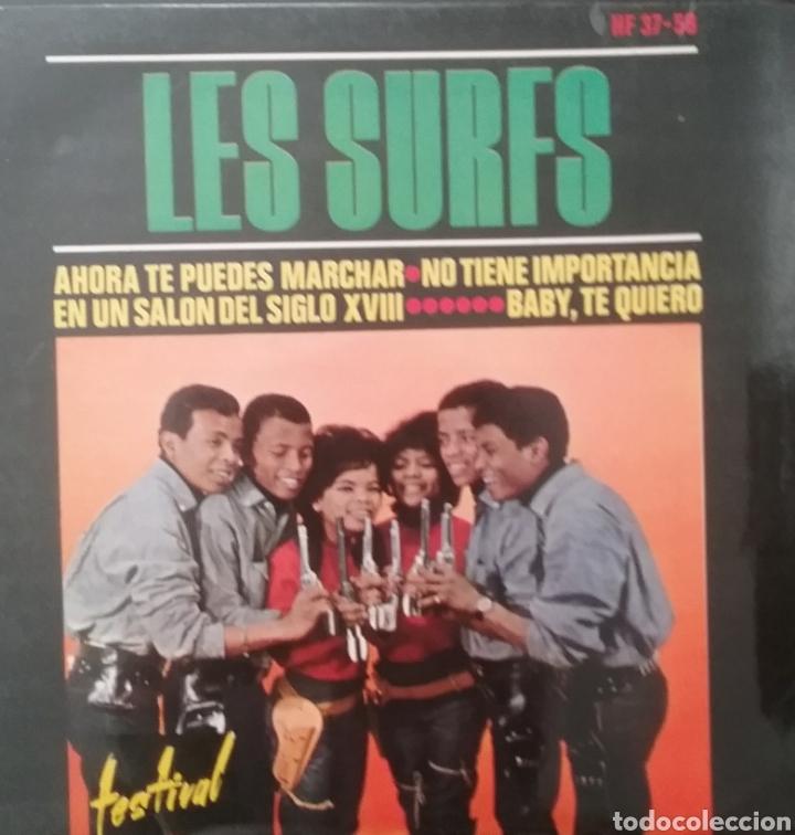 LES SURFS. EP. SELLO DISQUES FESTIVAL. EDITADO EN ESPAÑA. AÑO 1964 (Música - Discos de Vinilo - EPs - Funk, Soul y Black Music)