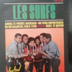 Discos de vinilo: LES SURFS. EP. SELLO DISQUES FESTIVAL. EDITADO EN ESPAÑA. AÑO 1964. Lote 262603475
