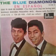 Discos de vinilo: THE BLUE DIAMONDS ( EN ESPAÑOL). EP. SELLO FONTANA . EDITADO EN ESPAÑA. AÑO 1964. Lote 262603970