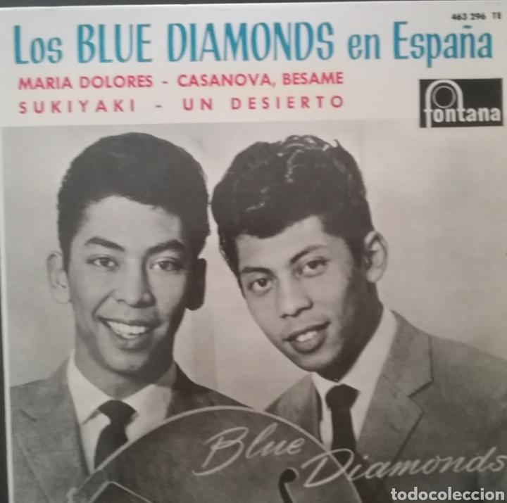 THE BLUE DIAMONDS. EP. SELLO FONTANA . EDITADO EN ESPAÑA. AÑO 1964 (Música - Discos de Vinilo - EPs - Funk, Soul y Black Music)