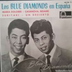 Discos de vinilo: THE BLUE DIAMONDS. EP. SELLO FONTANA . EDITADO EN ESPAÑA. AÑO 1964. Lote 262604490