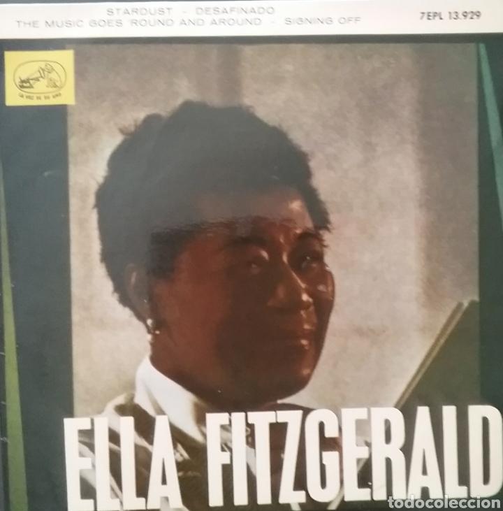ELLA FITZGERALD. EP. SELLO LA VOZ DE SU AMO . EDITADO EN ESPAÑA. AÑO 1963 (Música - Discos de Vinilo - EPs - Funk, Soul y Black Music)