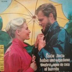 Discos de vinilo: NINA & FREDERIK . EP. SELLO BELTER . EDITADO EN ESPAÑA. AÑO 1961. Lote 262606285