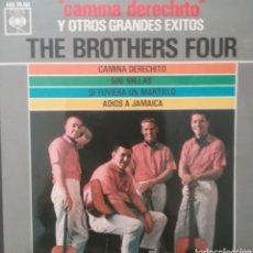 Discos de vinilo: THE BROTHERS FOUR. EP. SELLO CBS . EDITADO EN ESPAÑA. AÑO 1963. Lote 262607670