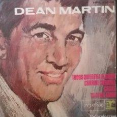 Discos de vinilo: DEAN MARTIN. EP. SELLO REPRISE / HISPAVOX . EDITADO EN ESPAÑA. AÑO 1964. Lote 262608080