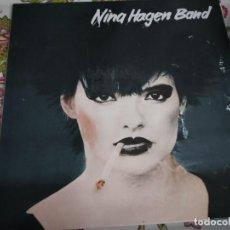 Discos de vinilo: NINA HAGEN BAND - NINA HAGEN BAND (LP, ALBUM) CBS S 32293. VINILO NUEVO. MINT / VG+++. Lote 262608865