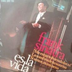 Discos de vinilo: FRANK SINATRA. EP. SELLO REPRISE / HISPAVOX . EDITADO EN ESPAÑA. AÑO 1966. Lote 262619765