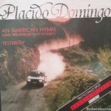 Discos de vinilo: PLÁCIDO DOMINGO. SINGLE. SELLO CBS . EDITADO EN ITALIA. Lote 262620230