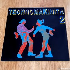 Discos de vinilo: DOBLE LP TECHNOMAKINITA 2. Lote 262623910