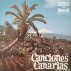 Discos de vinilo: CANCIONES CANARIAS. EP. SELLO ORLADOR. EDITADO EN ESPAÑA. AÑO 1970. Lote 262625495