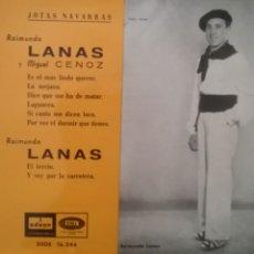 Discos de vinilo: RAIMUNDO LANAS. EP. SELLO ODEON. EDITADO EN ESPAÑA. AÑO 1958. Lote 262629520