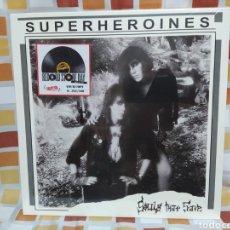 Discos de vinilo: SUPERHEROINES–SOULS THAT SAVE . LP VINILO PRECINTADO EDICION LIMITADA 288/500. Lote 262635590
