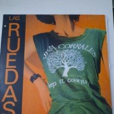 Dischi in vinile: LAS RUEDAS – VIVA CORRALES EDICIÓN ESPAÑOLA 3 CIPRESES – 4C-214 LP. Lote 262565685