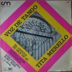 Discos de vinilo: TITA MERELLO LP SELLO EMI-ODEON EDITADO EN ARGENTINA.... Lote 262642430