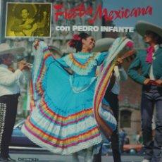 Discos de vinilo: PEDRO INFANTE LP SELLO BELTER EDITADO EN ESPAÑA AÑO 1978.... Lote 262643895