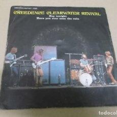 Discos de vinilo: CREEDENCE CLEARWATER REVIVAL (SINGLE) HEY TONIGHT AÑO 1971. Lote 262644475