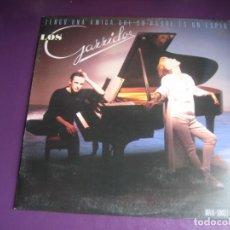 Discos de vinilo: LOS GARRIDO – TENGO UNA AMIGA QUE SU PADRE ES UN ESPIA - MAXI SINGLE HISPAVOX 1986 - SYNTH POP 80'S. Lote 262650890