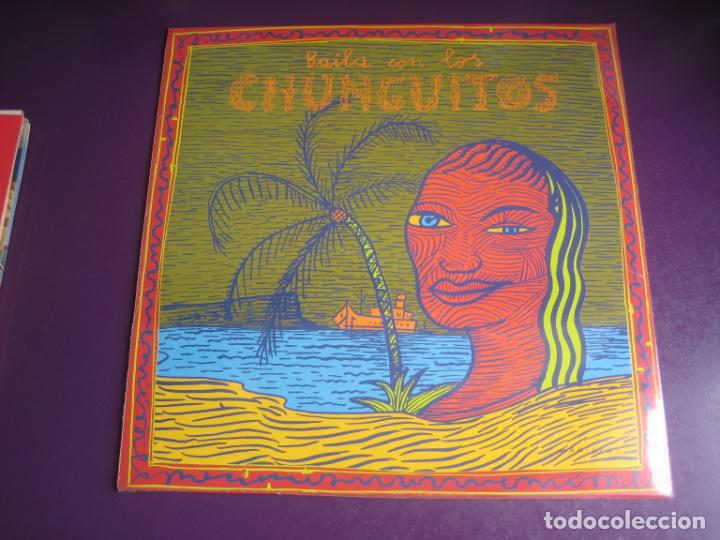 BAILA CON LOS CHUNGUITOS - LP EMI 1990 PRECINTADO - RUMBAS GITANAS - RUMBA POP - PORTADA MARISCAL (Música - Discos - LP Vinilo - Flamenco, Canción española y Cuplé)