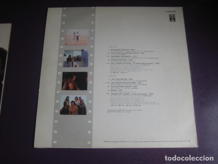 Discos de vinilo: BSO DEPRISA DEPRISA - LP EMI 1981 - CHUNGUITOS - LOLE Y MANUEL - MARISMEÑOS - MARELU - ETC RUMBAS - Foto 2 - 262652175